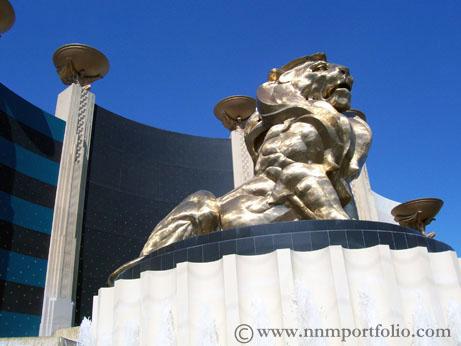 Las Vegas Hotels - MGM Grand Lion