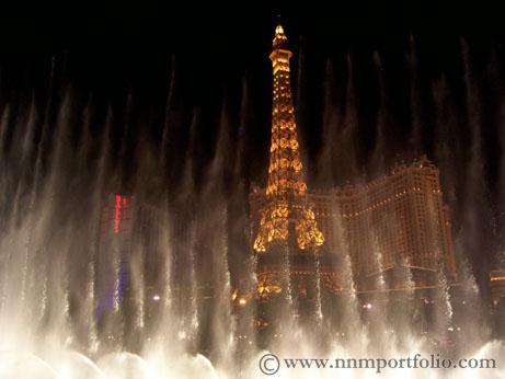 Las Vegas Hotels - Paris Hotel & Casino: Eiffel Tower