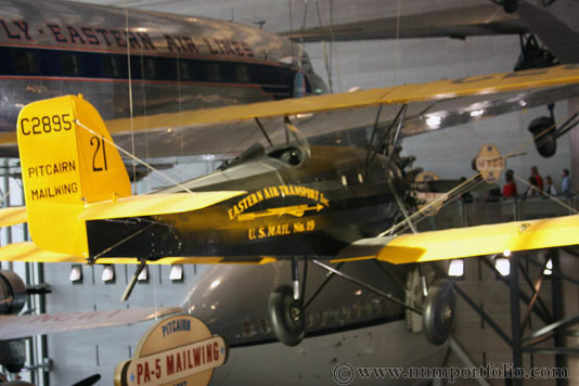 Smithsonian National Air & Space Museum - Pitcairn PA-5 Mailwing