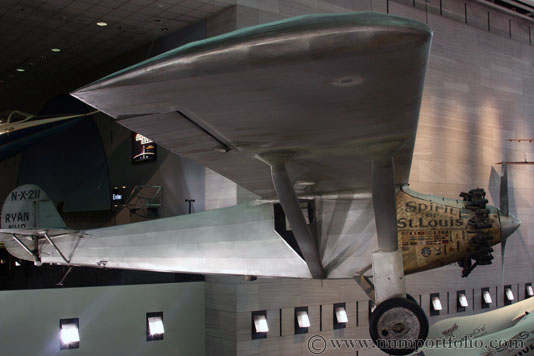 Smithsonian National Air & Space Museum - The Spirit of St. Louis