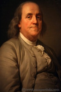 Smithsonian National Portrait Gallery - Benjamin Franklin