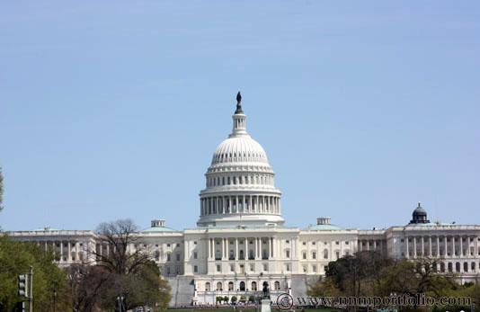 Washington DC Monuments - United States Capitol Building