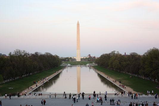 Washington DC Monuments - The Washington Monument Reflecting Pool