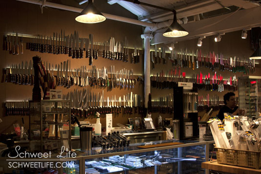 Bowery Kitchen Supply Knives