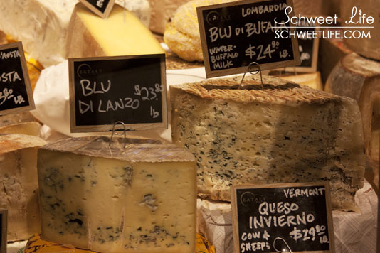 Eataly Blue Cheeses