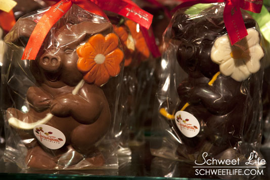 Jacques Torres Chocolate Pigs