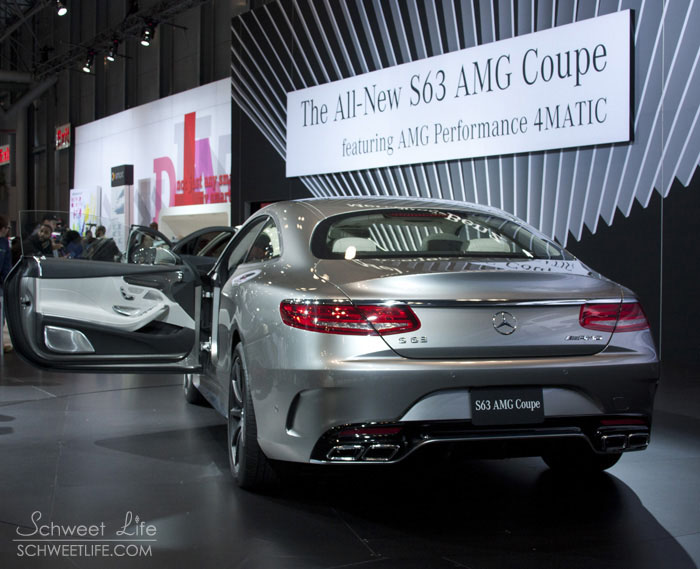 Mercedes Benz S63 AMG Coupe Rear View