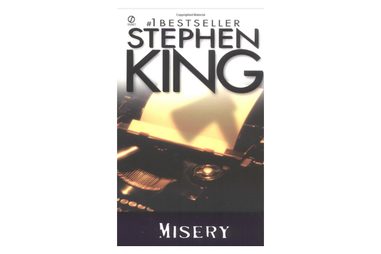"""Misery"" Book Cover"