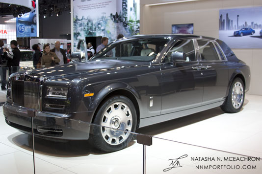 NY Car Show 2012 - Rolls Royce Phantom