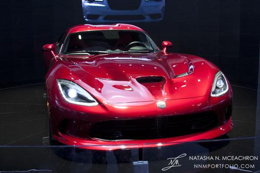 NY Car Show 2012 - SRT Viper (Front)