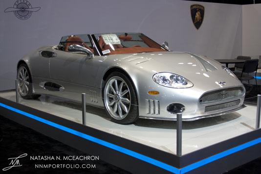 NY Car Show 2012 - Spyker C8 SWB