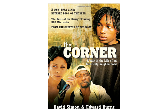 """The Corner"" Book Cover"