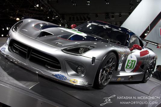NY Car Show 2012 - Viper GTS R