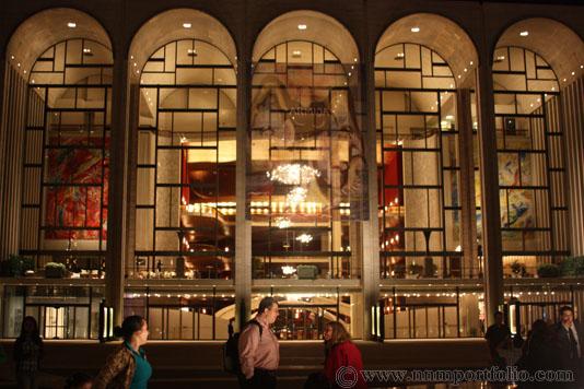 Architectural Photography Lincoln Center - The Metropolitan Opera House