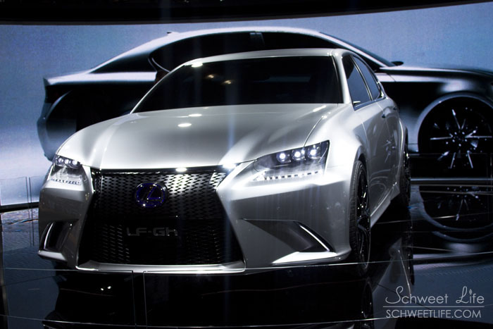 Automotive Photography - Lexus LF-Gh