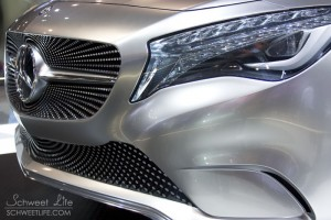 Automotive Photography - Mercedes-Benz: Concept A Class (Grille)