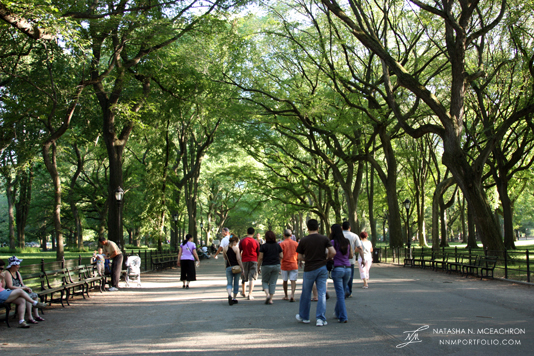 Central Park - The Mall & Literary Walk