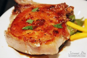 Food Photography - Porkchop with Brown Sugar Glaze
