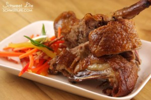 Food Photography - Roast Duck & Vegetables