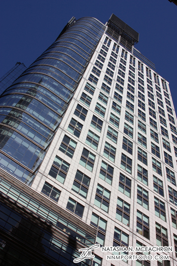 """Midtown Manhattan Architecture - 4 Times Square """"The Conde Nast Building"""""""