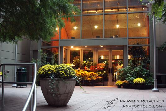Midtown Manhattan Architecture - New York Plaza Florists