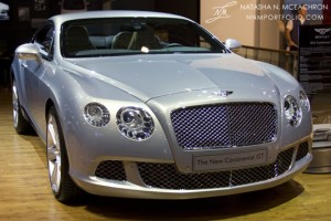 NY Car Show 2011 - Bentley Continental GT