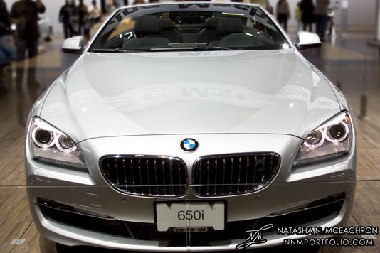 NY Car Show 2011 - BMW 650i