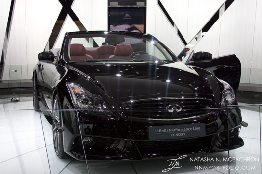 NY Car Show 2011 - Infiniti: IPL G Concept