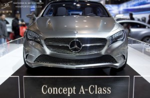 NY Car Show 2011 - Mercedes-Benz: Concept A Class (Front View)