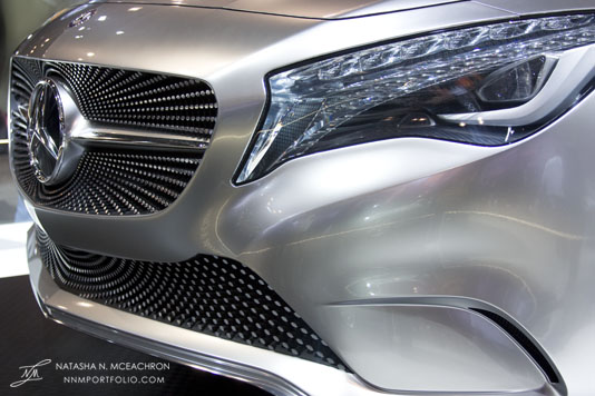 NY Car Show 2011 - Mercedes-Benz: Concept A Class (Grille)
