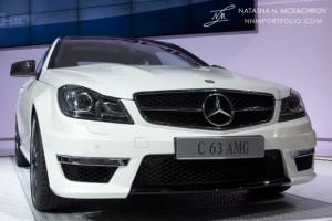 NY Car Show 2011 - Mercedes C 63 AMG