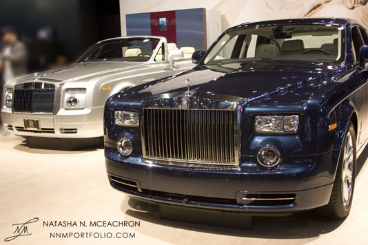 NY Car Show 2011 - Rolls Royce Phantom