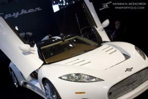 NY Car Show 2011 - Spyker C8 Aileron