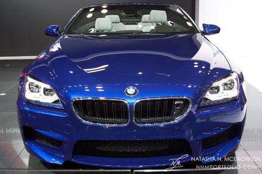 NY Car Show 2012 - BMW M6 Convertible
