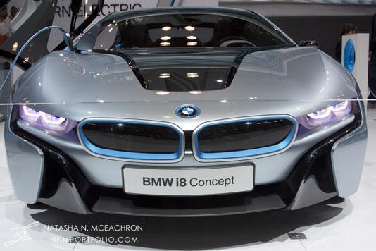NY Car Show 2012 - BMW i8 Concept
