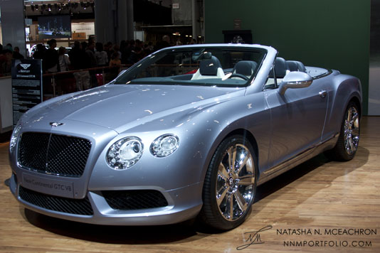 NY Car Show 2012 - Bentley Continental GTC V8