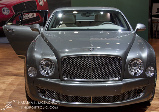 NY Car Show 2012 - Bentley Mulsanne