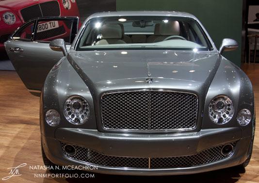 NY Car Show 2012 - Bentley Mulsanne