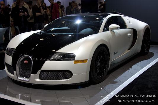 NY Car Show 2012 - Bugatti Veyron 16.4 Grand Sport