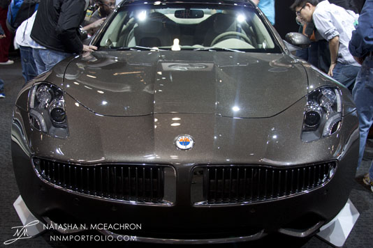 NY Car Show 2012 - Fisker Atlantic