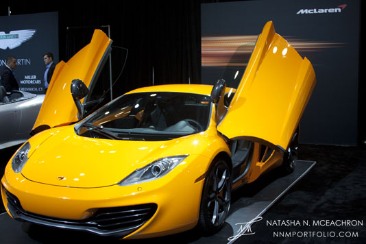NY Car Show 2012 - McLaren MP4-12C