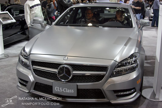 NY Car Show 2012 - Mercedes Benz CLS