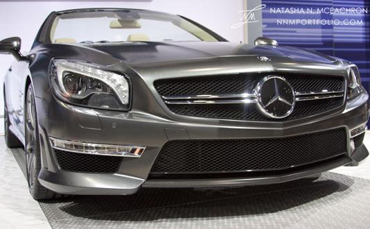 NY Car Show 2012 - Mercedes Benz SL65 AMG (Front)