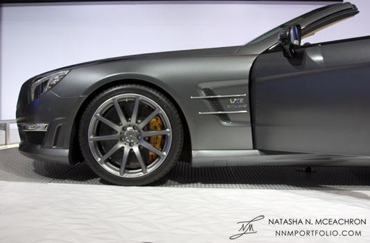 NY Car Show 2012 - Mercedes Benz SL65 AMG (Side)