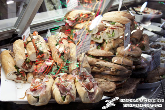 Philadelphia - Hoagies at Reading Terminal Market