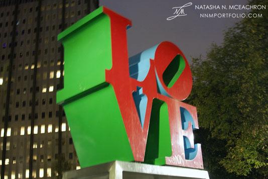 "Philadelphia - ""The Love Sculpture"" by Robert Indiana"
